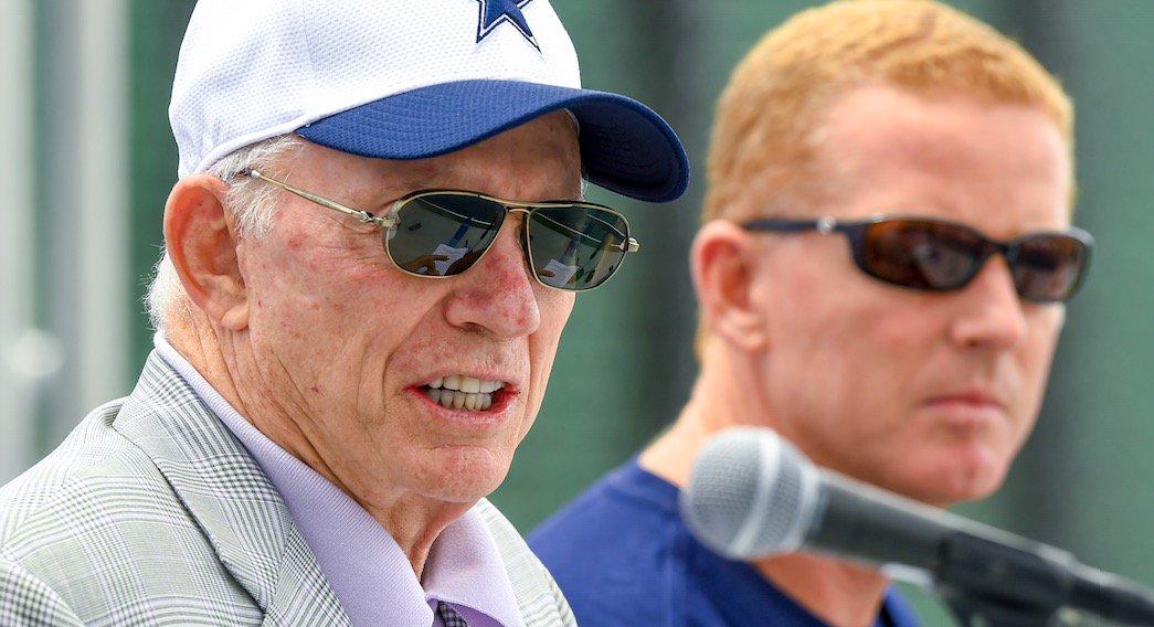 Jerry jones says cowboys coach jason garrett gets just as ...