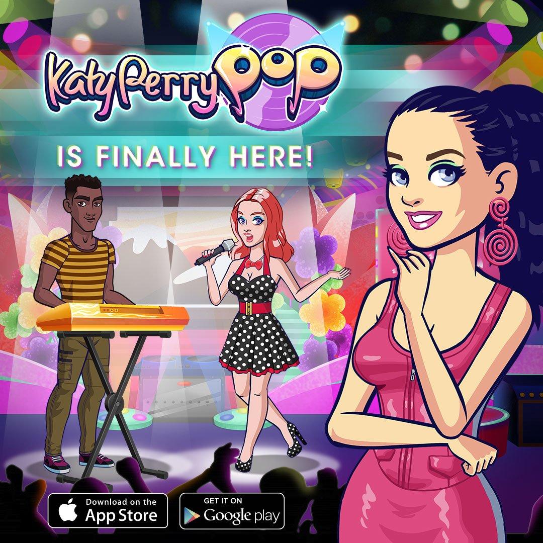 Are you playing yet?! Tweet me a screenshot of your favorite part of #KatyPerryPop https://t.co/etsBoWs7GU https://t.co/hVsJcShHa3