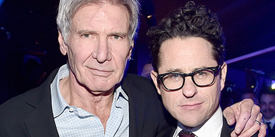 J.J. Abrams says it was 'weird' directing Harrison Ford in StarWars: