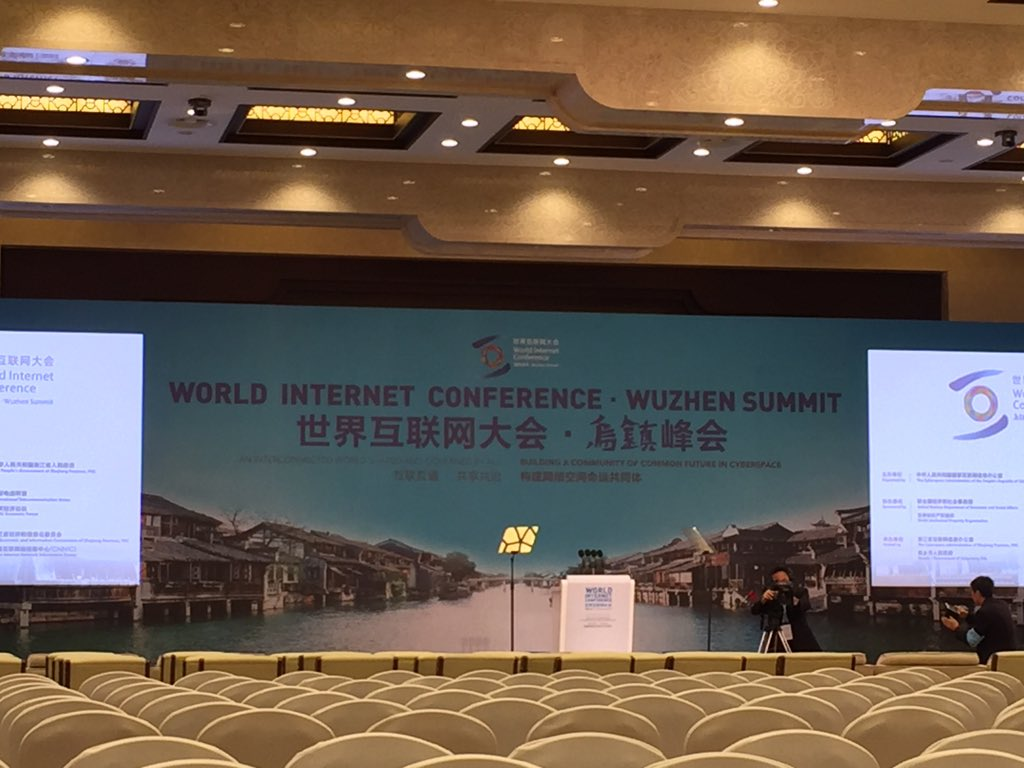 #Wuzhen, irony-free zone where China touts vision of filtered Internet by unblocking websites for 3 days #WIC https://t.co/qeVzgM1YYM