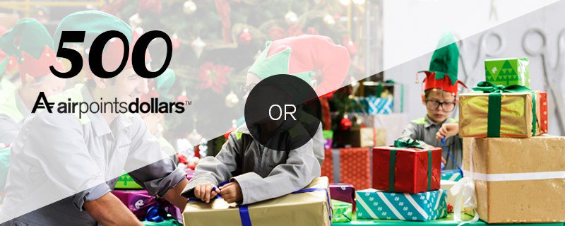 The Airpoints™ or the present? RT with your choice & AirNZXmas to be in to win. 😊 ðŸŽ�🎄🎅 T&Cs: https://t.c