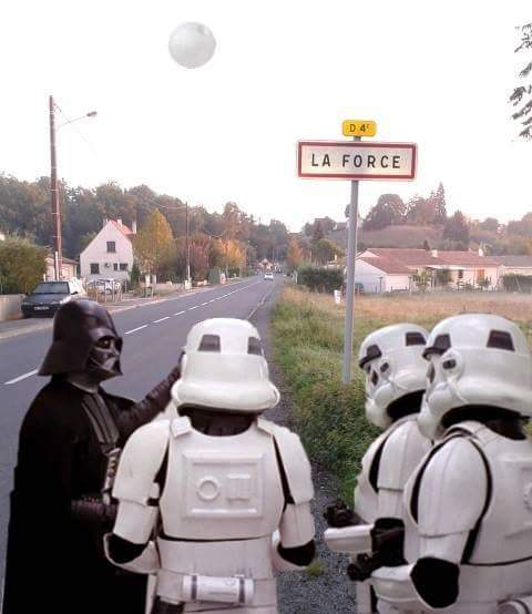 Only in Périgord, France #starwars https://t.co/yXKTe1GVMw