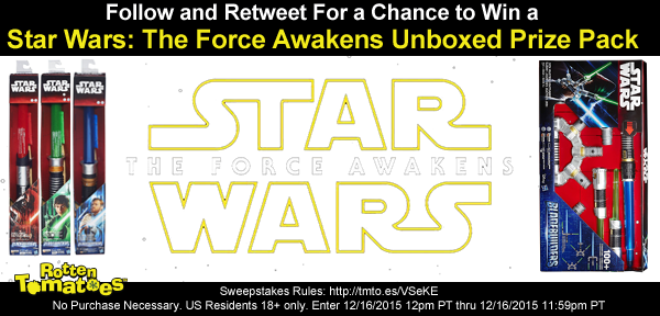 Follow & RT 4 a chance 2 win a #StarWars Prize Pack No Purc Req US 18+ #Sweepstakes Rules: https://t.co/kRgnQPVP2M https://t.co/6mi6TcP2rT