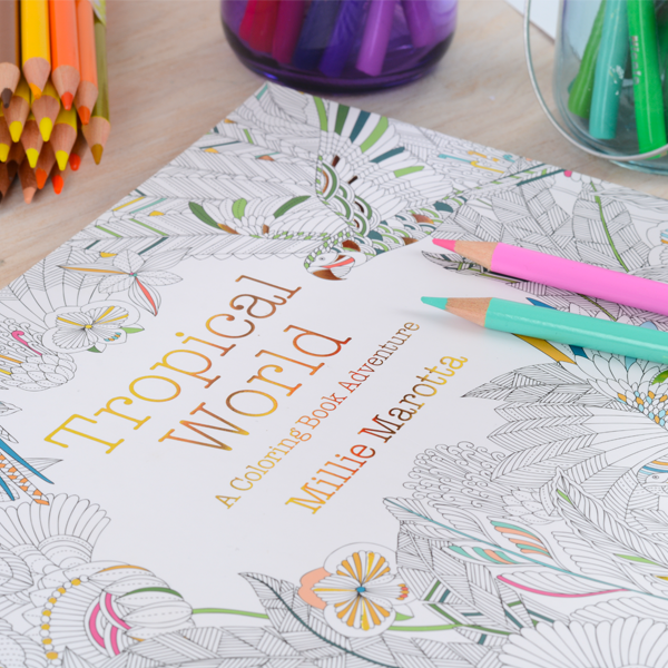 The hottest trend of 2015? #ColoringBooks, of course! RT for a chance to #Win one of our best sellers! https://t.co/mvlTFl0So9