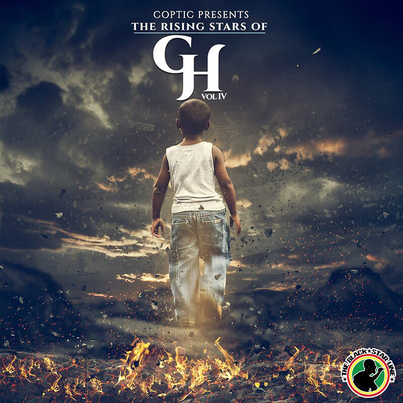 Official album cover for @GHcoptic presents... The Rising Stars of GH Vol. IV.
