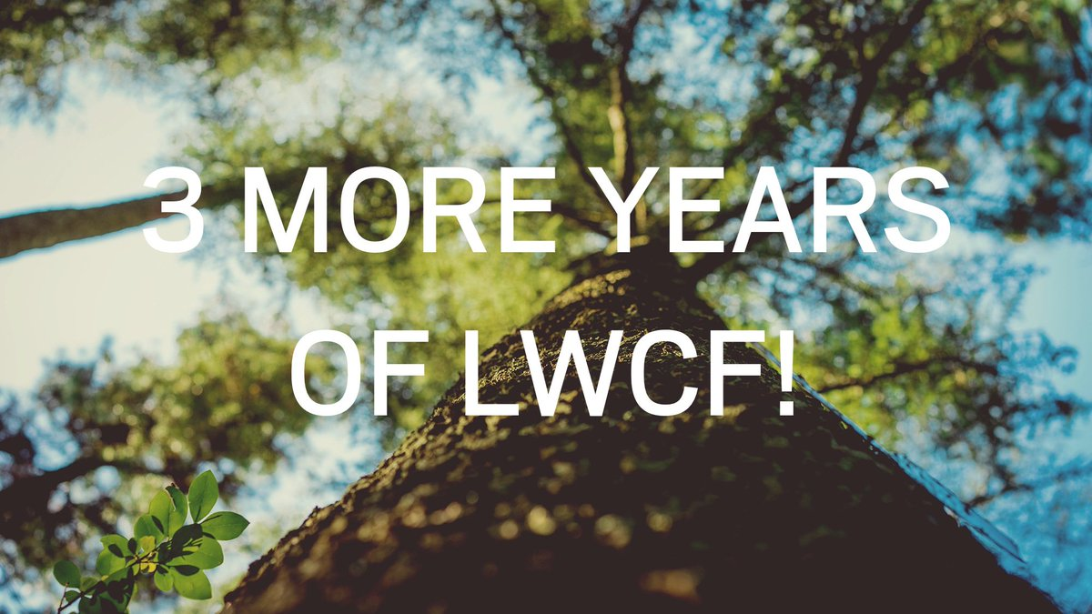 BIG NEWS: Congress renewed #LWCF for 3 years! Still much work to be done, but this is huge: https://t.co/Hz47RxSpj8 https://t.co/o9PFGR95jF