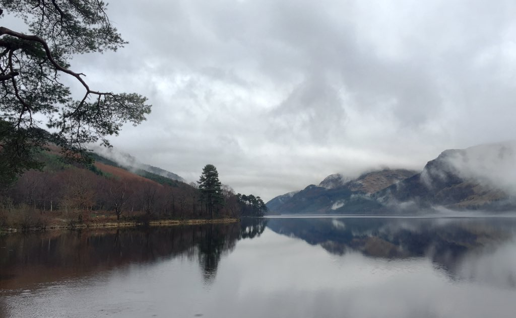 The hauntingly beautiful Loch Eck on the Cowal Peninsula - so atmospheric #Argyll https://t.co/crmHIdU4nz