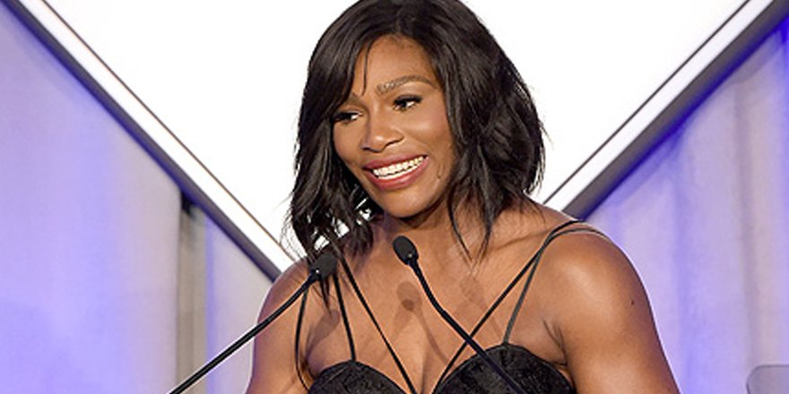 EXCLUSIVE: Serena Williams accepts Sports Illustrated Sportsperson of the Year award