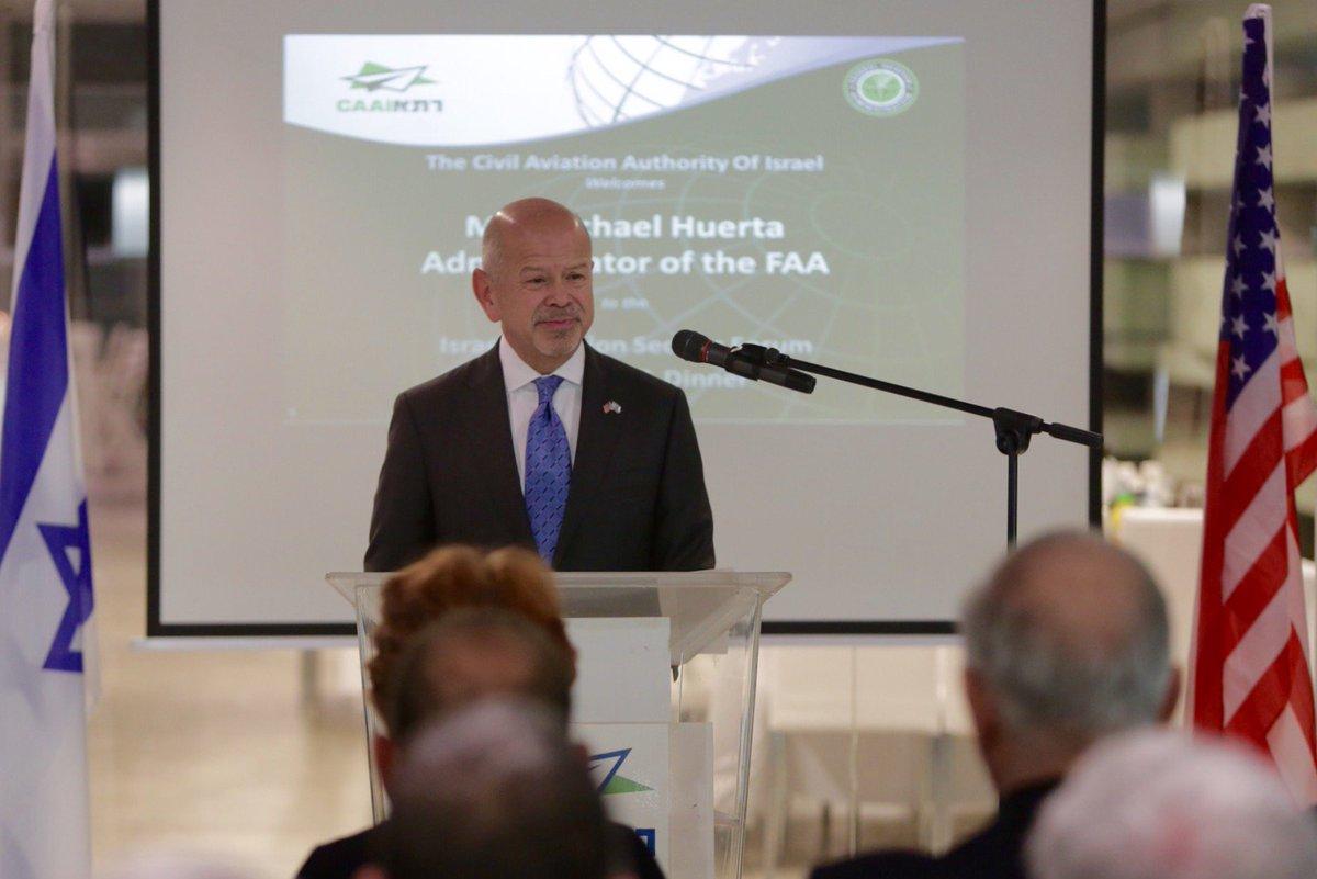 FAA Administrator Visits Israel @usembassyta