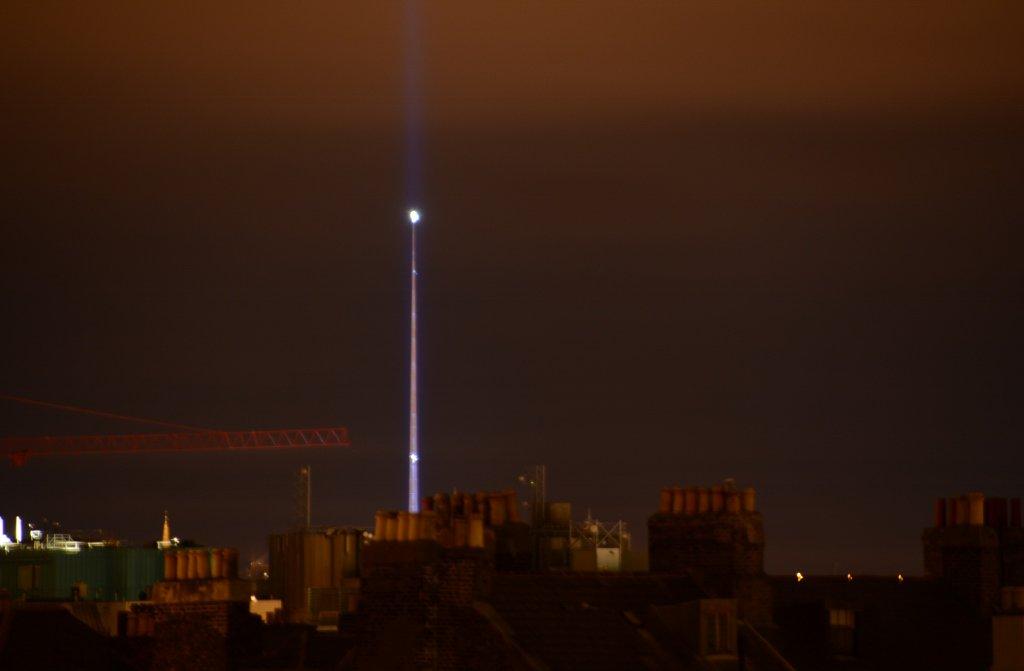 #Dublin's #Spire has found it's true calling, as a lightsaber (#StarWars promo). 16.12.15. #Ireland (4) https://t.co/xLIrdG0gcB