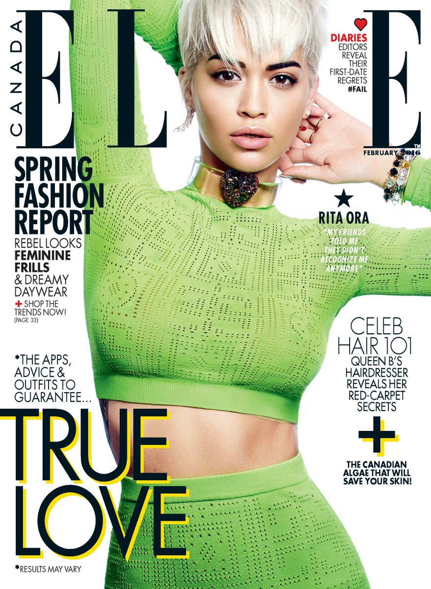 RT @ElleCanada: Read it here first! Our exclusive interview with February cover star @RitaOra https://t.co/DlJA3WhSjK https://t.co/vzZvnmcU…