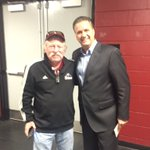 John Kennedy, who funded the @UMassBasketball practice facility. The best I've seen! https://t.co/02zg8q5O78