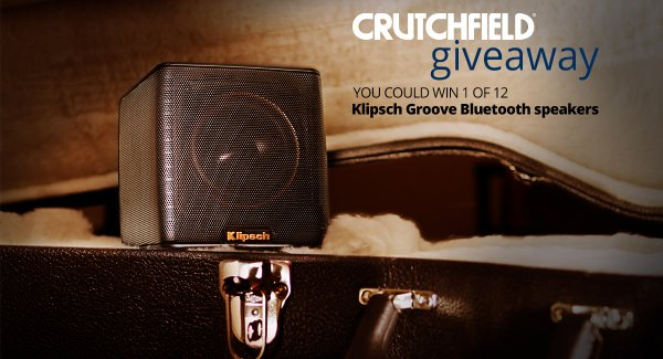 Enter to win 1 of 12 @klipschaudio Groove BT speakers ($150 retail). https://t.co/120E8N8uUV https://t.co/ft0MUpNpp8