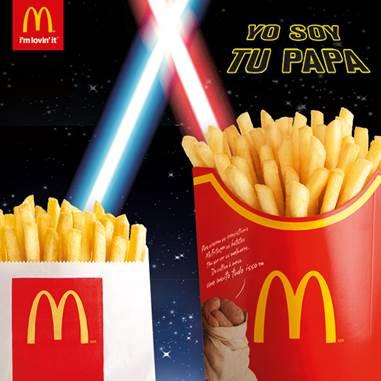 Es el destino, únete a mi y gobernaremos la galaxia de papas como padre e hijo #LaFuerzaDespertó https://t.co/3jbsNpOsVV