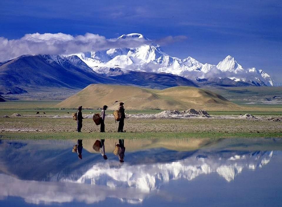 Crossing #Tibet ... #Photo by 林明仁 #Himalaya #Dream #Love #Hope #Health #Peace & #Art https://t.co/kwh6f2EING