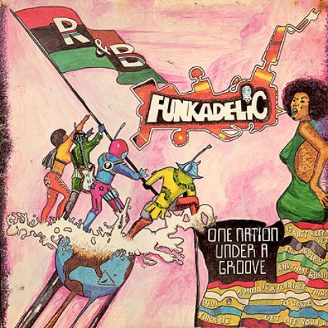 #BestBlackAlbumCovers Funkadelic. One Nation Under a Groove. https://t.co/WEyyG73ppH