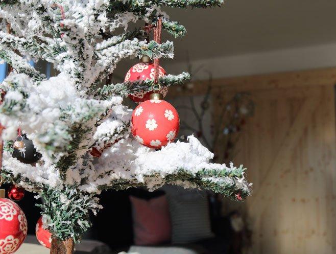 Decoración de Navidad con espíritu DIY