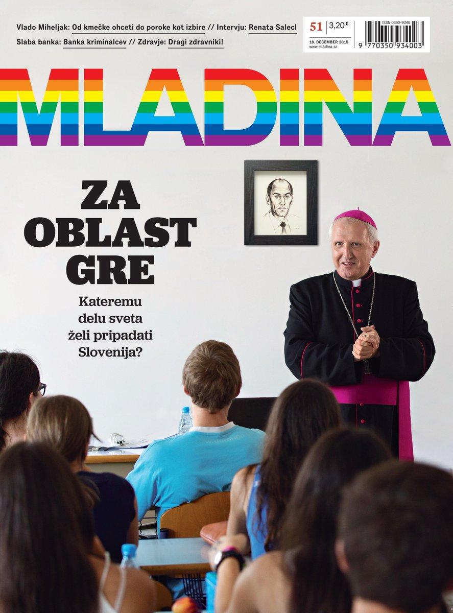Jutri izide nova Mladina. To je njena naslovnica! #Mladina51 https://t.co/Zr6hkJMzwP