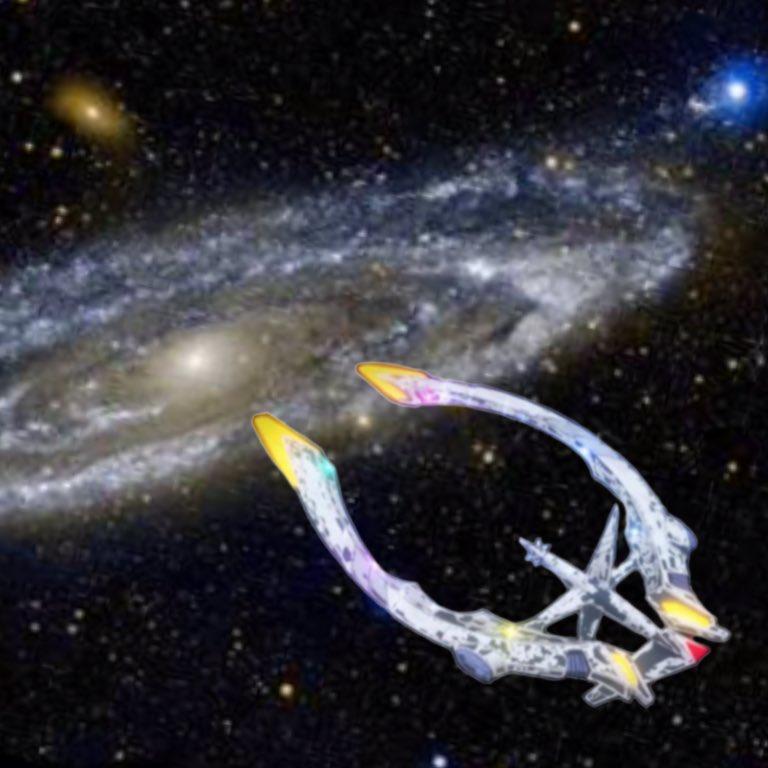 暇が過ぎて会長の宇宙船を透過して遊んでたよかったらどうぞ#プレアデス