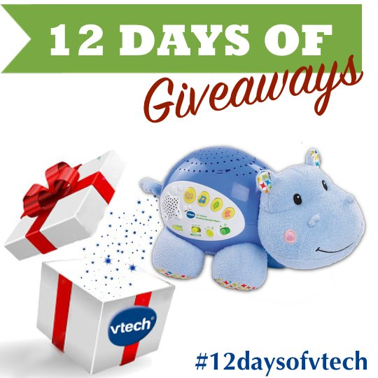 On the 11th day of #giveaway VTech gave to me, a Soothing Starlight Hippo. Like & RT to enter!  #12daysofvtech https://t.co/AhUjVuQIT8