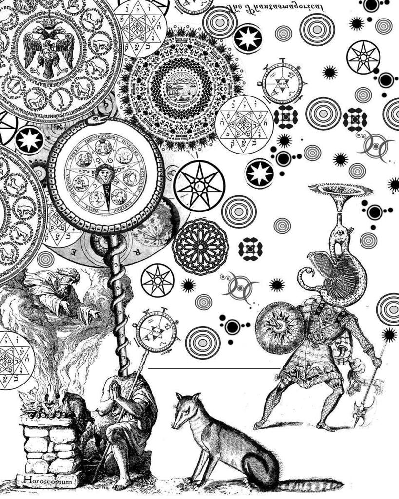 Artwork from the ASTRONOMICA book.  The entire 70 images of Larry Carlson's surreal ASTRON… https://t.co/RaK8DJzVAy https://t.co/uOGoUbmbV0