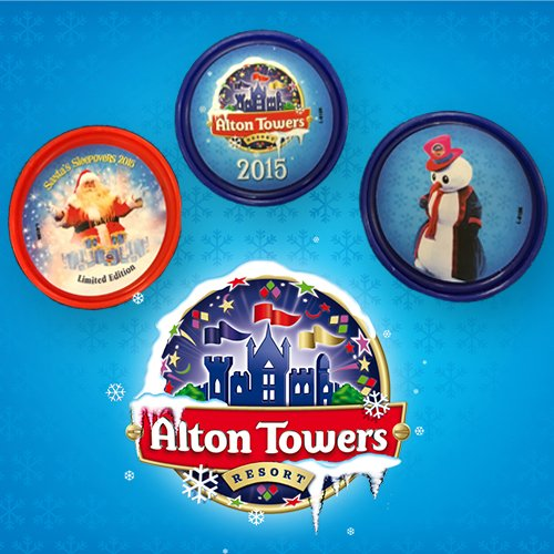 We have a this limited edition set of #christmas Alton Towers Resort pop badges to give away! Just RT to win! https://t.co/9pkkqgJkSZ