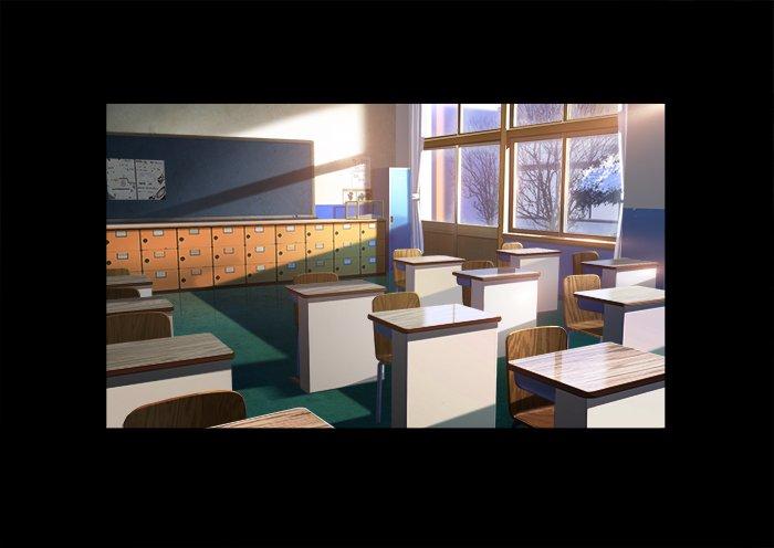 教室の机の数が減っていたり、小学生時代の美海との思い出の踏切に積もる雪があったりと、OPではいろんなメッセージが込められ