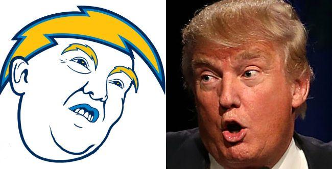Let's redesign every NFL logo as Donald Trump https://t.co/KI6al1WspN https://t.co/pVVH4PN58z