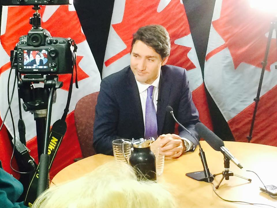 We spent 75 minutes talking with @JustinTrudeau yesterday, on all things #cdnpoli. Copy is on the way! https://t.co/qGsYJKCMeQ