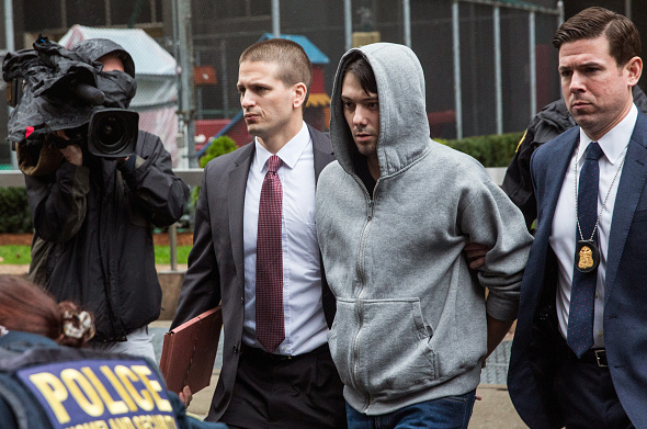 Martin Shkreli being brought out of 26 Federal Plaza (Getty Images) https://t.co/zZLOy10xXR https://t.co/p0Bqm7gitf