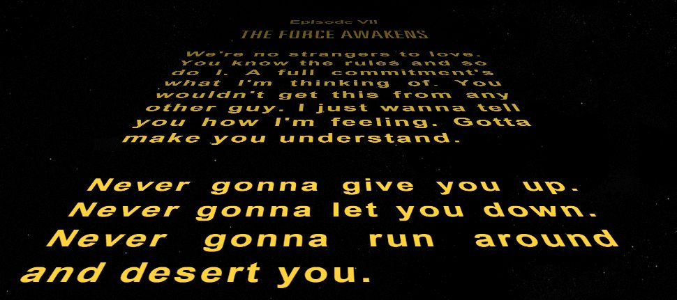 It's the opening crawl to Star Wars! https://t.co/dtpaYIItHL