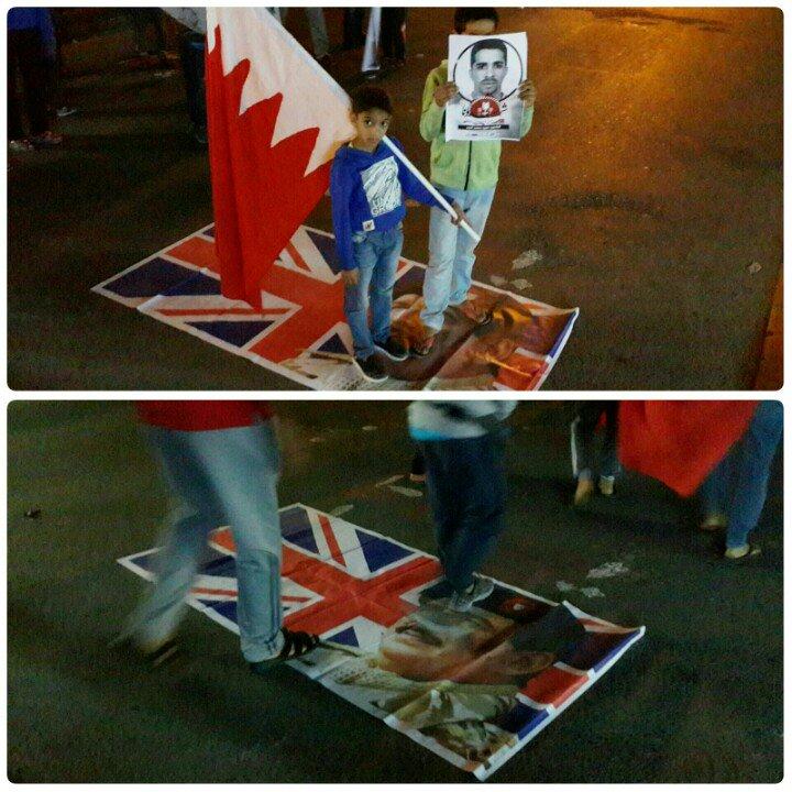 #البحرين #كرزكان نيوز: صورة السفّاح حمد تسحق باقدام المتظاهرين المنادين بالقصاص من قتلة الشهداء #شهداؤنا_سر_صمودنا https://t.co/Q09MA8vSFw