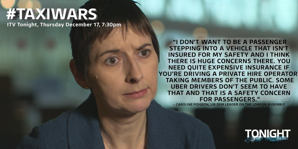 Cabbies claim that because of low pay from @uber, some drivers are on the road without insurance @CarolinePidgeon https://t.co/z2LfaXJCml