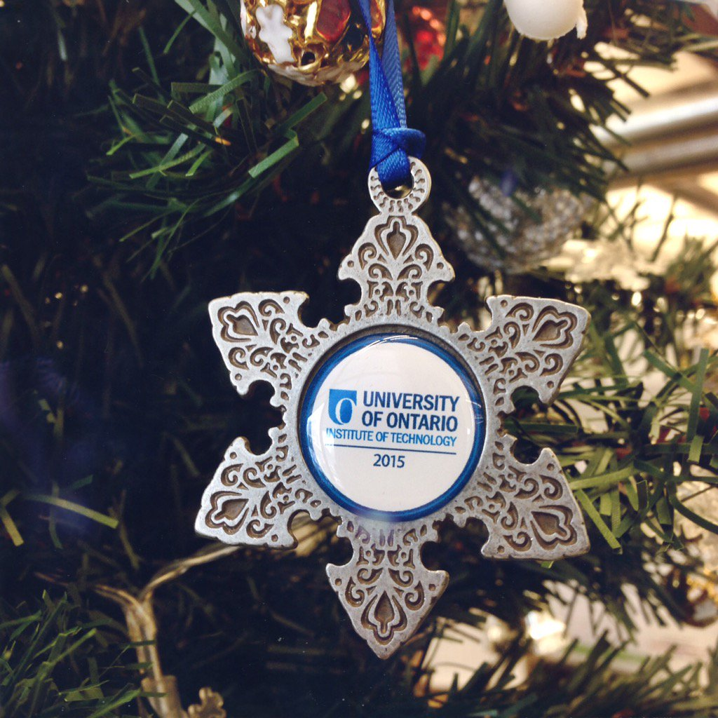 We've got more UOIT spirit for your Christmas tree! RT to win. 5 winners will be chosen by EOD today