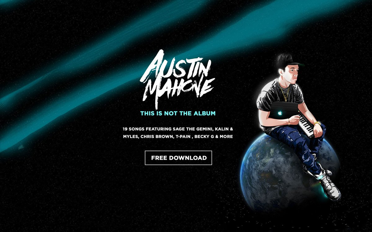.@AustinMahone just dropped #ThisIsNotTheAlbum via WeTransfer. Download: https://t.co/xq4GgSOtVD https://t.co/dVIgQNLoAL