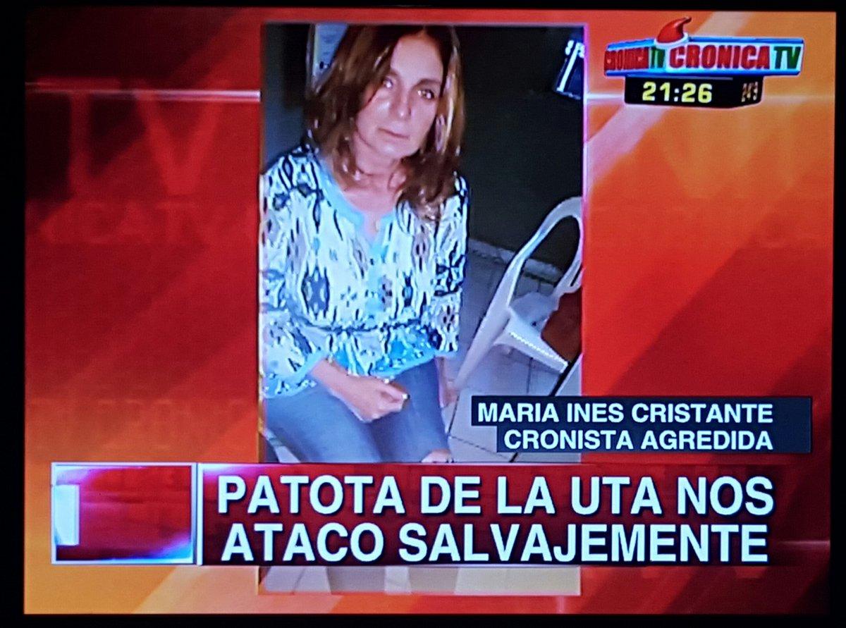 Patota de UTA atacó a nuestros compañeros que cubrían Protesta de trabajadores de la empresa AGUILA DORADA. Micros https://t.co/56eGGIqPiz