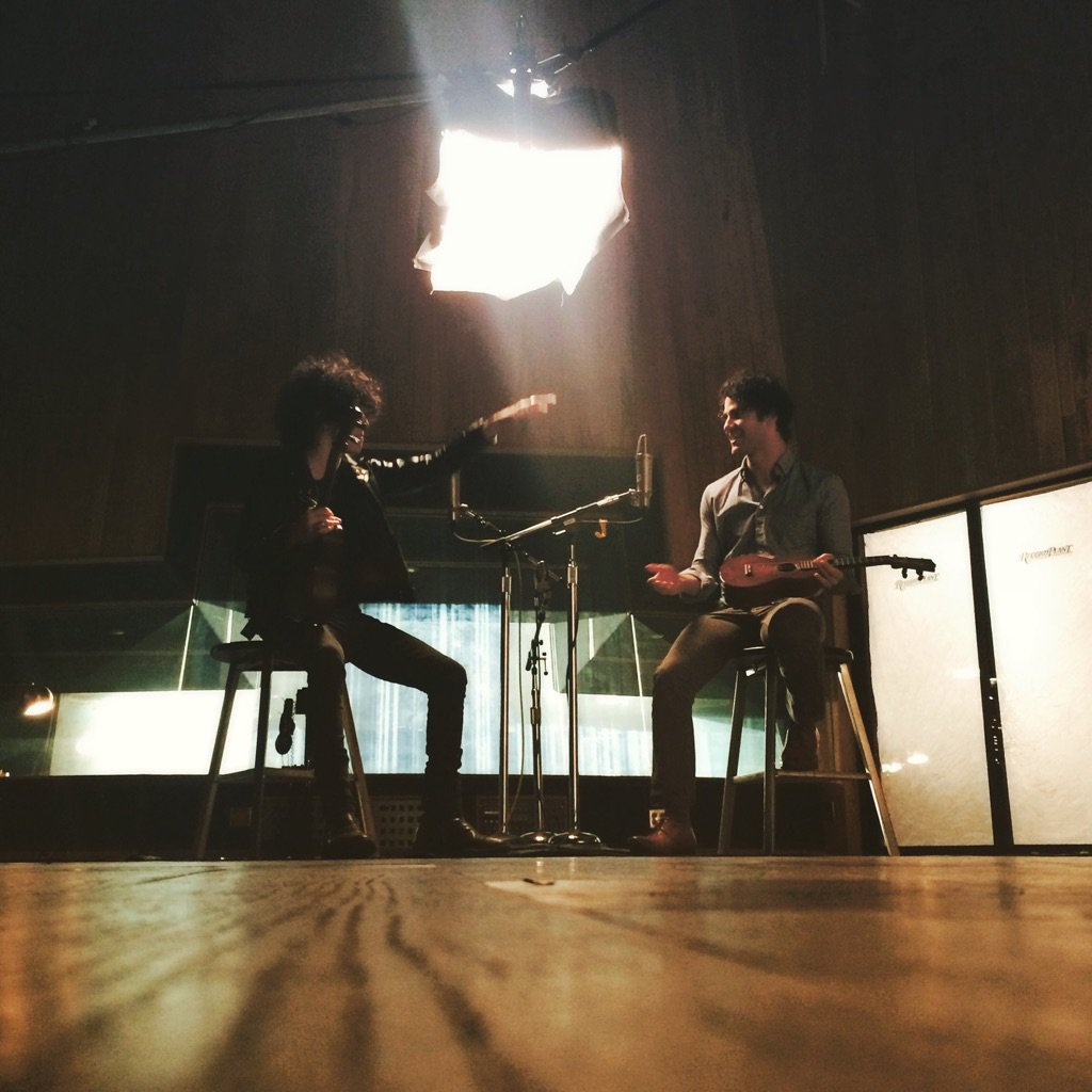Amazing day shooting episode of #actlikeamusician w/ the very talented @darrencriss + @aoloriginals . Coming soon!! https://t.co/PBzLuLFR5r