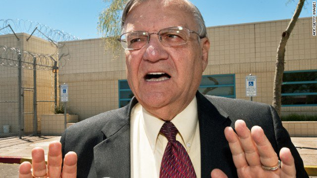 Arizona man claiming to be Jesus Christ arrested for allegedly stalking Sheriff Joe Arpaio.
