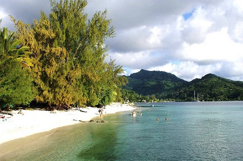 #BeachThursday in Huahine -- with a lagoon filled with fish, rays, sharks and turtles! https://t.co/mn2NKTb9AP