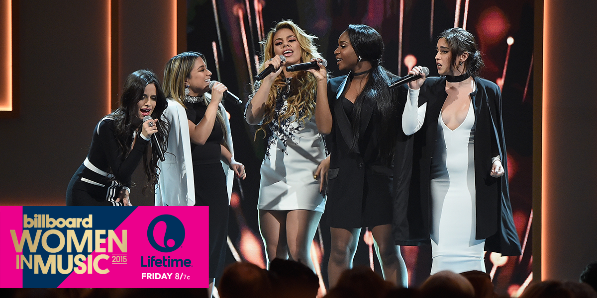 .@FifthHarmony will be honored as @Billboard's Group of the Year at the #WomenInMusic awards tomorrow at 8/7c! https://t.co/gOGlxoLlvU