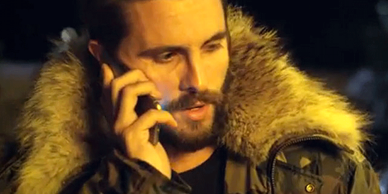What's Scott Disick doing in Chris Brown's new music video?!