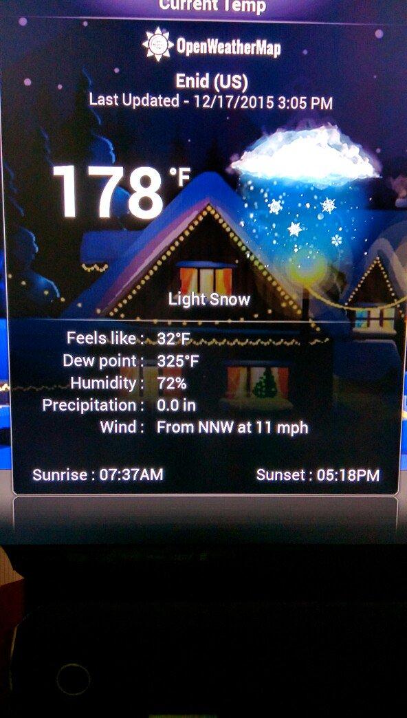 Oklahoma weather is strange. https://t.co/oZjMHwhhE0