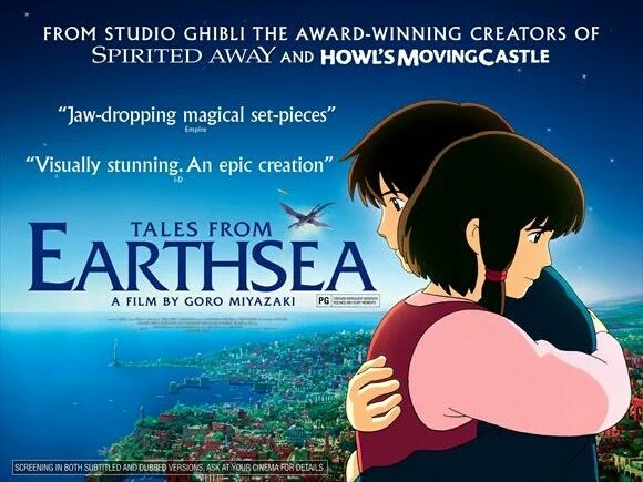 We're showing a bunch of Studio Ghibli gems over the festive period, starting tomorrow at 11am w/Tales From Earthsea https://t.co/ExzLSIc3mt