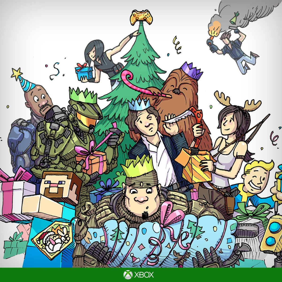 From everyone at Xbox Australia, we wish you a Merry Xmas! https://t.co/qAJLDN7OWv