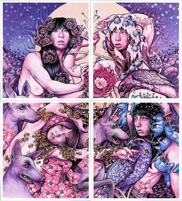 Announcing the @YourBaroness Purple Quadrant art prints, available now at https://t.co/hZMggCqrkL https://t.co/u1MGPI5Sa9