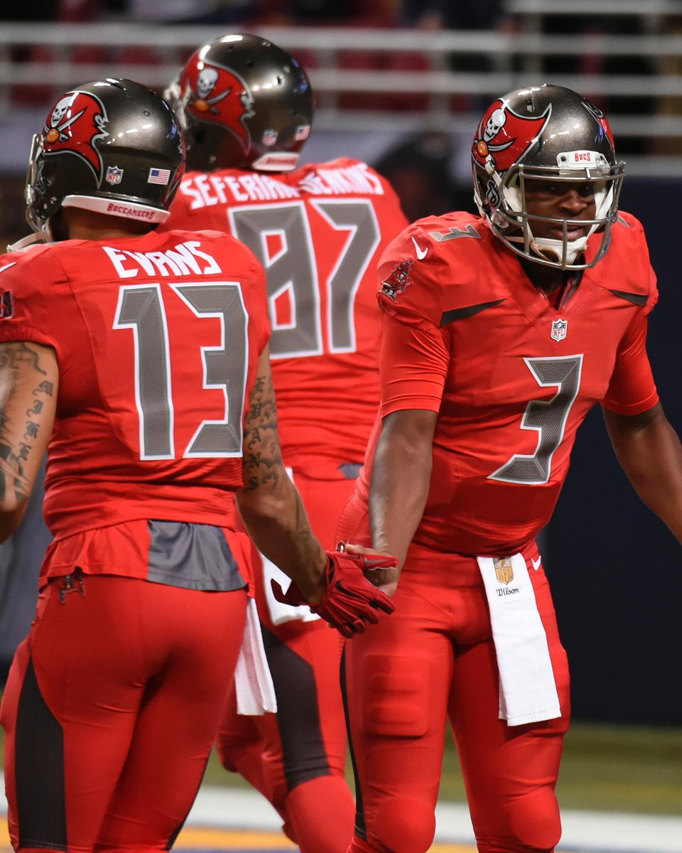 bucs color rush jersey for sale