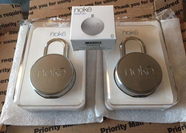Very nice! Just received my cool Kickstarter @fuzdesigns #bluetooth padlocks -Look awesome - Congrats! #smartgarage https://t.co/NaNfNAe28m