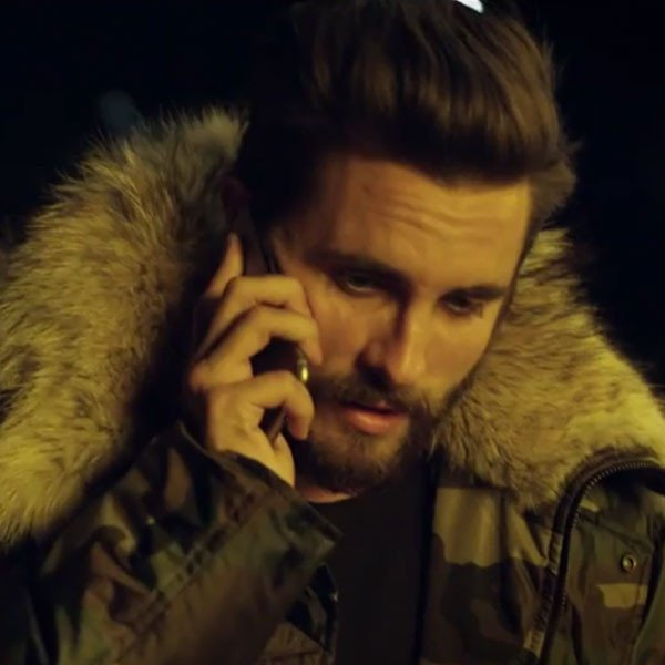Scott Disick makes a NSFW cameo in Chris Brown's new music video: