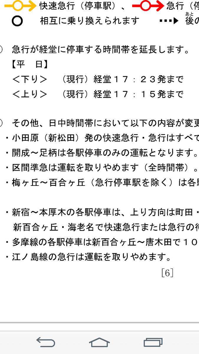 区 間 準 急 廃 止 江 ノ 島 線 急 行 廃 止 https://t.co/W3OXLIdk2l