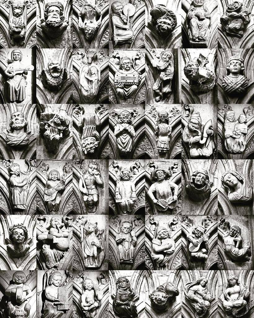 Hood mould carvings, Beverley Minster #goodmorning #architecture #gothic #instagram https://t.co/anzvkOdEO8 https://t.co/zM5kmy9WD3